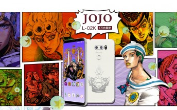 JoJo Bizarre special edition LG V30+ goes on sale in Japan