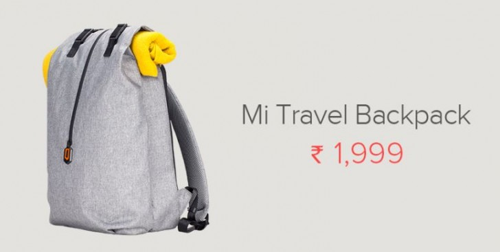 ddc988a00b Xiaomi launches three new travel backpacks in India - GSMArena.com news