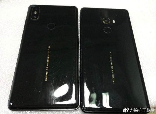 Alleged photo of the Xiaomi Mi Mix 2s