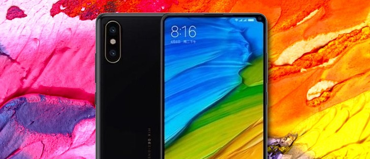 Xiaomi Mi Mix 2s spy shot reveals the position of the dual camera - in the corner