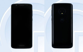 Motorola Moto G6 details revealed by TENAA