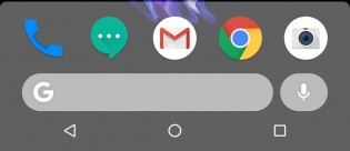 New Pixel Launcher home