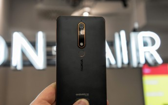 The 4GB/64GB Nokia 6 (2018) is coming to the Netherlands in May for EUR300