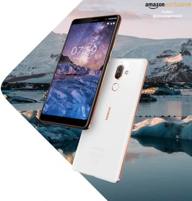 The Nokia 7 Plus may be exclusive to Amazon India