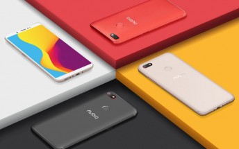Nubia V18 is now official, 4000 mAh battery in tow