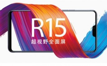 Oppo teases R15 and R15 Plus with a notch