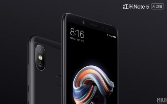 Xiaomi launches updated Redmi Note 5 with brighter camera, AI