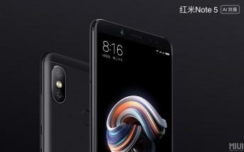 Xiaomi launches updated Redmi Note 5 with brighter camera, AI