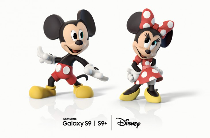 Samsung updates Galaxy S9's AR emoji with Disney characters