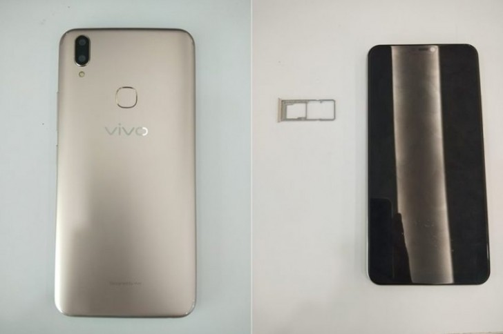 Vivo V9 live images leak ahead of its announcement on March 27