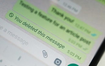 WhatsApp time limit for deleting messages increases to over an hour
