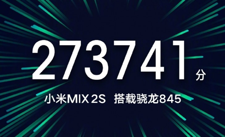 小米 MIX 2跑分