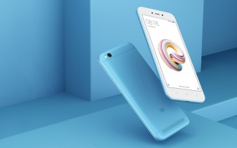 Xiaomi brings a new Redmi 5A color to India to mark 5 million units sold