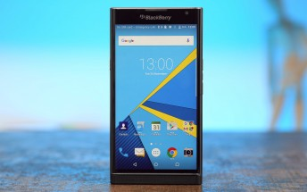 BlackBerry Priv receives a software update - GSMArena com news