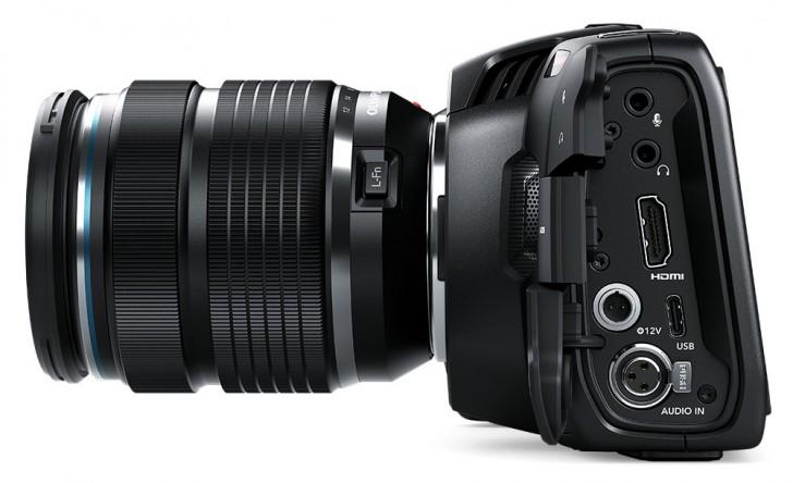 Blackmagic Design Announces Pocket Cinema Camera 4k For 1295 Gsmarena Com News