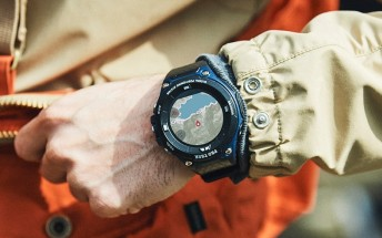 Casio announces PRO TREK WSD-F20A Indigo Blue smart watch