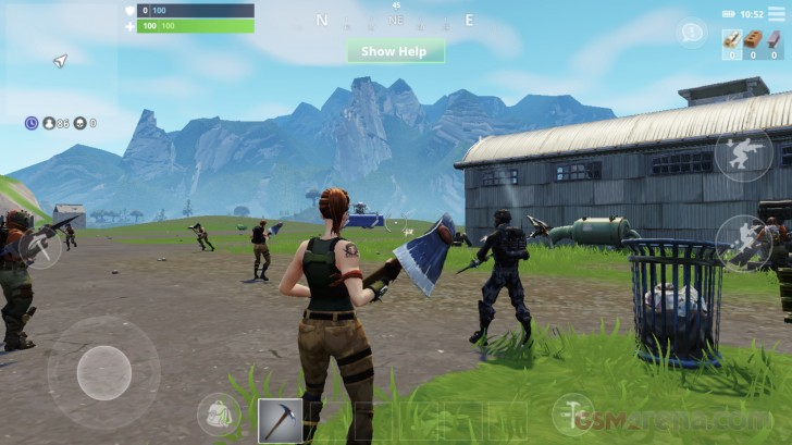 Fortnite for iOS game review - GSMArena com news