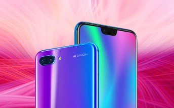 Honor 10 unveiled with Kirin 970 chipset to power the AI of the dual camera
