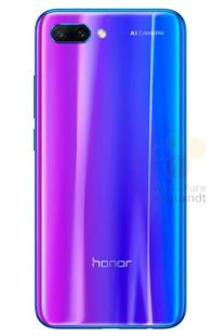 Honor 10 to arrive in Twilight, leaked renders reveal