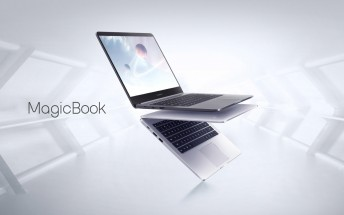 The Honor MagicBook is a 14
