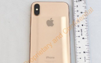 Blush Gold iPhone X certified at the FCC