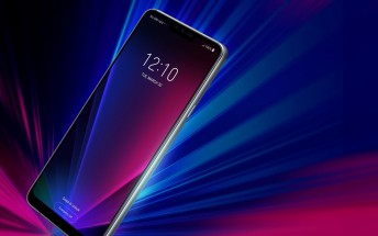LG G7 ThinQ appears in promo image with a power key on the side
