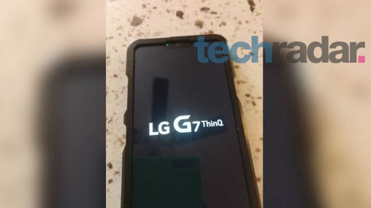 LG G7 ThinQ now leaks from inside a bulky case, shows off