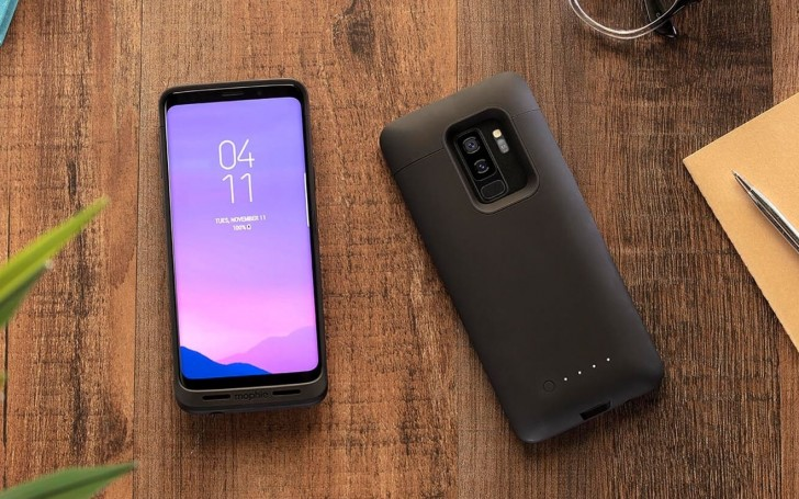 pretty nice 4dad0 5d644 Mophie's new battery case adds 2,070mAh to the Galaxy S9/S9+ for ...