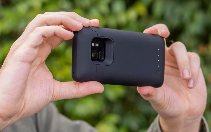 pretty nice c515f 12671 Mophie's new battery case adds 2,070mAh to the Galaxy S9/S9+ for ...