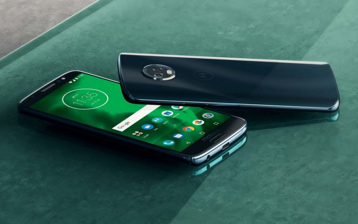 Moto G6 Front and Back