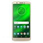 Moto G6 Plus in Gold