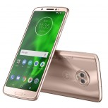 Moto G6 in Rose Gold