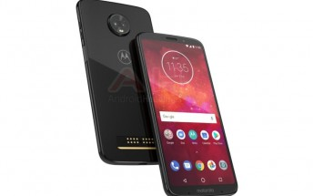 Moto Z3 Play shows off dual rear cameras and 18:9 screen in leaked press render
