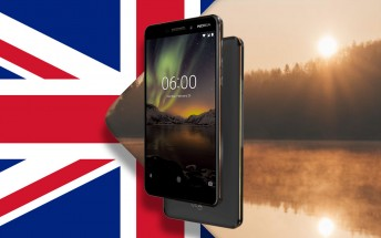 Nokia 6 (2018) launches in the UK tomorrow, in the Netherlands soon