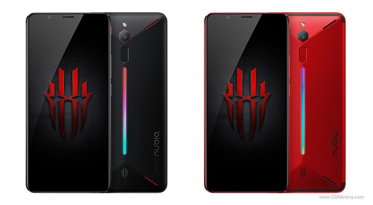 Nubia Red Magic gaming smartphone with LED strip launched in China