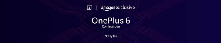 OnePlus 6 lists as coming soon on Amazon India 2