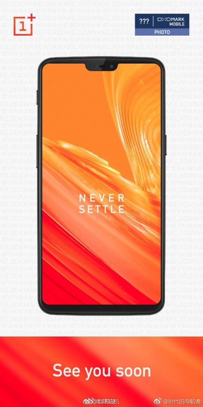 OnePlus 6 leaked render reveals notch