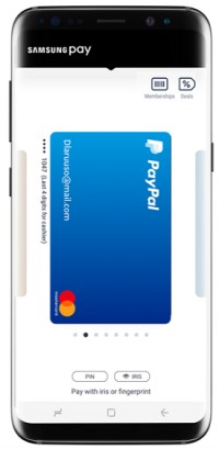 PayPal begins rollout of Samsung Pay support - GSMArena com news