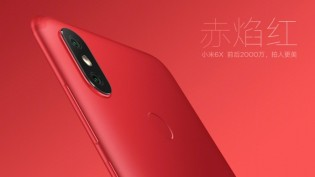 Xiaomi Mi 6X in Flame Red