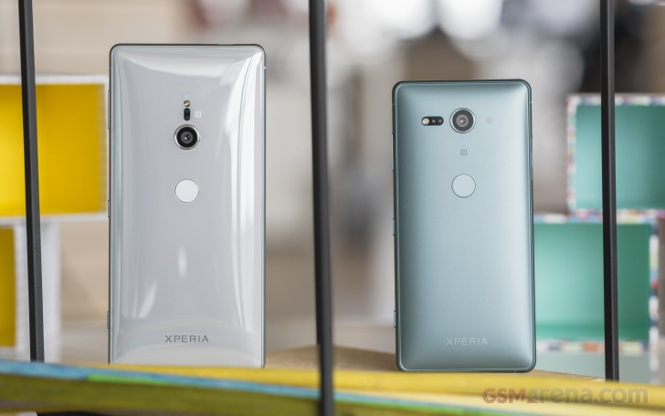 Sony's Xperia XZ2 and XZ2 Compact will be available in the