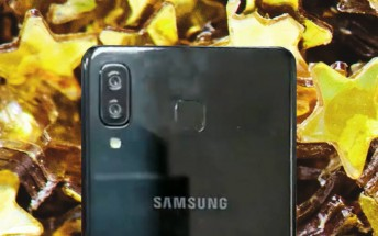 Samsung Galaxy A9 Star photographed by Taiwan's wireless authority