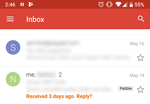 Image result for the nudge feature gmail