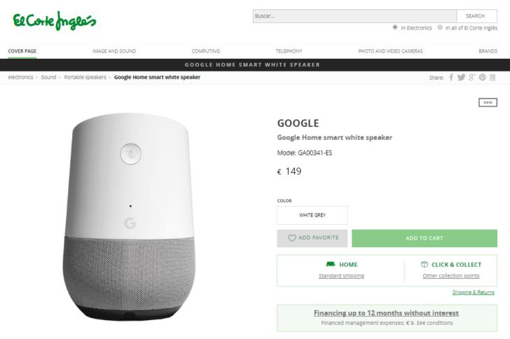 Google Home and WiFi Spanish launch imminent - GSMArena com news