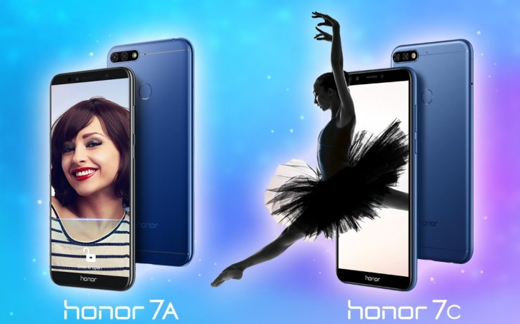 Huawei announces Honor 7A and Honor 7C in India