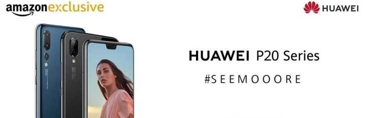 Huawei P20 Pro and Lite launch in India, exclusively on