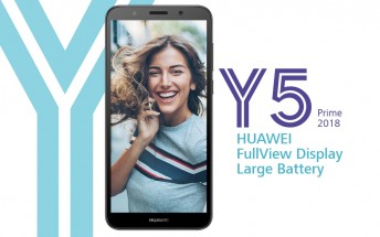 Huawei Y5 Prime (2018) gets quietly listed on official website
