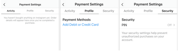 Instagram now allows In-App Purchases
