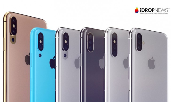 In 2019, Apple will introduce the iPhone with three cameras