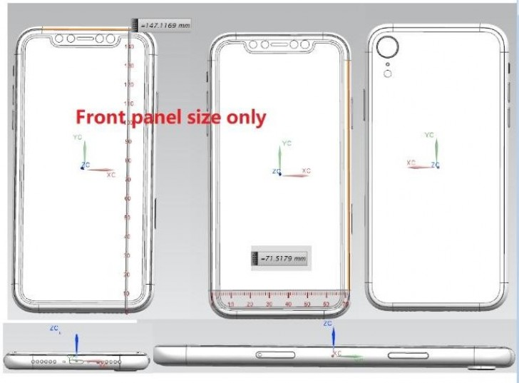 Apple iPhone X Plus & budget iPhone X design, aspects