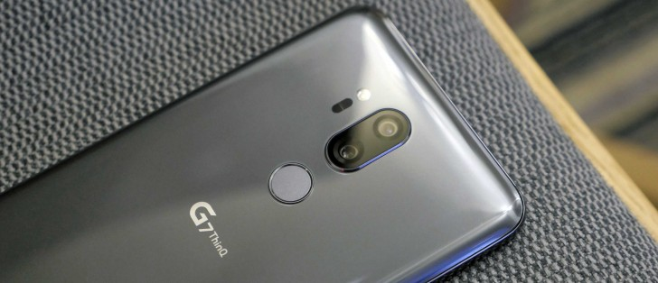 LG G7 ThinQ goes up for pre-order in the UK - GSMArena com news